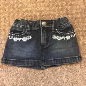 BabyGAP 18-24m denim skirt